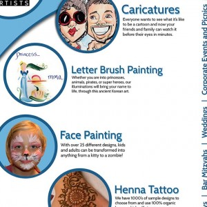 Retinal Delights - Face Painter in Los Angeles, California