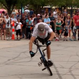 Rich Wieber's Bicycle Stunt Show - Acrobat in Andover, Minnesota