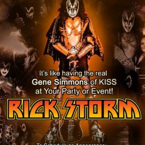 Rick Storm Gene Simmons Impersonator - Impersonator in Jackson, Tennessee