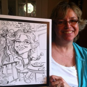 Rob Smith, Jr. - Caricaturist in Orlando, Florida