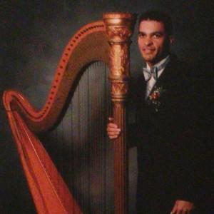 Robert Turner: Harpist for Weddings, Holidays, Ceremonies, Orchestra - Harpist in Chicago, Illinois
