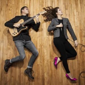Rose Bonbon pop duo - Pop Music in Montreal, Quebec