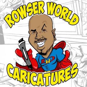 Rowser World - Caricaturist in Corpus Christi, Texas