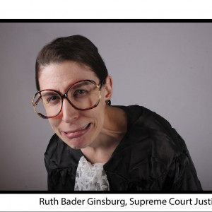 Ruth Bader Ginsburg Impersonator - Impressionist in New York City, New York