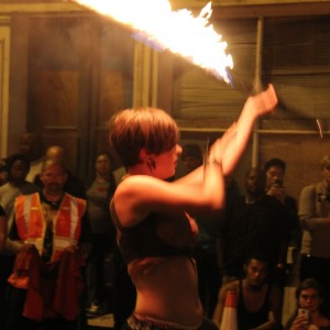 Sam Africa - Fire Performer in New Haven, Connecticut