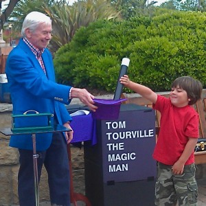 Santa Barbara Magician-Tom Tourville