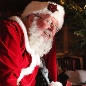 Santa Claus - Real Beard - Santa Claus in La Grange, Kentucky