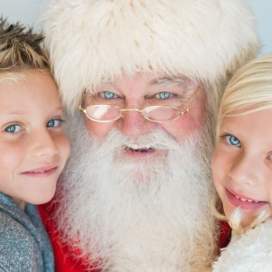 Santa Gary - Santa Claus in Oceanside, California