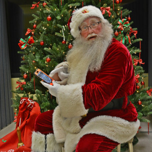 """Santa Ken"" - Santa Claus in Yulee, Florida"