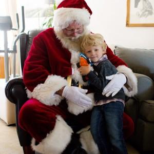 Santa Mark - Santa Claus in San Diego, California