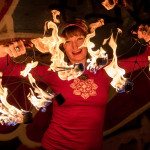 Sarah Sparkles of Sparkle and Burn Hoop Dance - Fire Performer / Fire Dancer in Milwaukee, Wisconsin