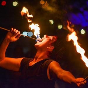 Sarah Supernova - Fire Dancer in Plymouth, Wisconsin