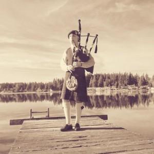 Matthew Fleek - Bagpiper in Stanwood, Washington