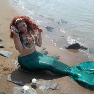 Serena the Sea Princess-Mermaid for Hire