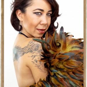 Sheila Starr Siani - Burlesque Entertainment in Long Beach, California