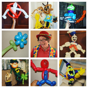 Silly Twister Balloons