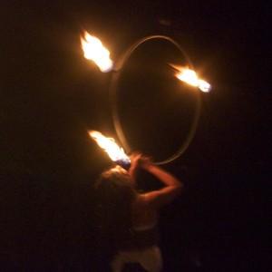 .:slush.hoops:. - Fire Dancer in Arcata, California