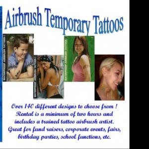 Kool Kats Airbrush Tattoos - Temporary Tattoo Artist in Somerset, Massachusetts