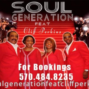 Soul Generation feat Cliff Perkins - R&B Group in Woodbridge, New Jersey