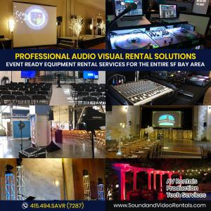 Sound and Video Rentals - Event Planner / Sound Technician in Walnut Creek, California