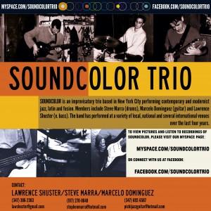 Soundcolor Trio - Jazz Band in Ridgewood, New York