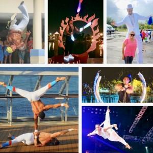 Spider Acrobatics - Circus Entertainment in Miami, Florida
