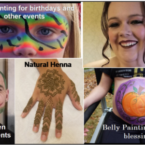 Squirrelcat Designs - Face Painter in Exeter, New Hampshire