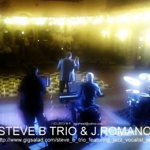 Steve B Trio Featuring Jazz Vocalist Jerry Romano - Jazz Band in San Pedro, California