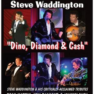 "Steve Waddington ""Dino, Diamond, & Cash"" and more! - Tribute Artist / Neil Diamond Tribute in Los Angeles, California"