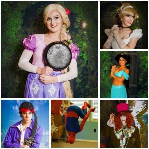 Storybook Birthdays - Princess Party / Santa Claus in Biloxi, Mississippi