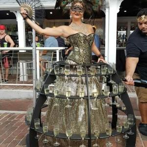 Strolling Tables - Costume Rentals / Fire Dancer in Boynton Beach, Florida