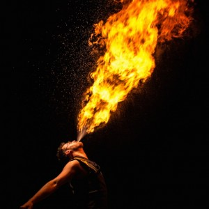 Sunshine Fire Entertainment - Fire Performer / Fire Eater in Detroit, Michigan