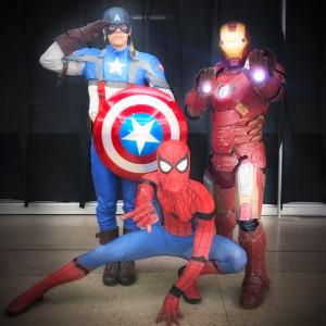 Superhero Birthday Celebrations - Superhero Party / Children's Party Entertainment in Los Angeles, California