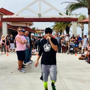 Reaction - Break Dancer in Tampa, Florida