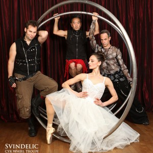 Svindelic Cyr Wheel Troupe - Circus Entertainment in New York City, New York