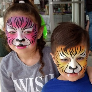 Swirls Face Painting - Face Painter in Birmingham, Alabama