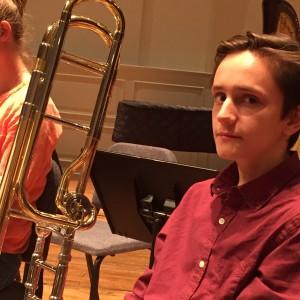 The Family Jenga Tornament - Trombone Player / Brass Musician in Parkville, Maryland