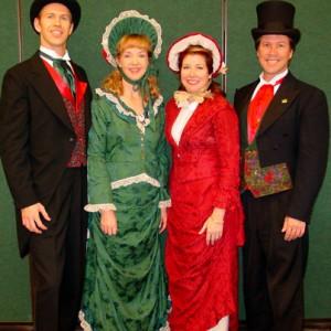 The Jingle Singers - Christmas Carolers in Los Angeles, California