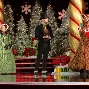 The Jolly Holidays - Christmas Carolers in New York City, New York