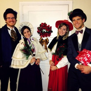 The Jollys - Christmas Carolers in Los Angeles, California