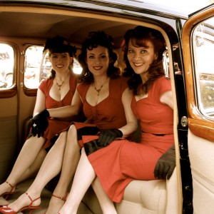 The Lindy Sisters - Andrews Sisters Tribute Show in Glendora, California