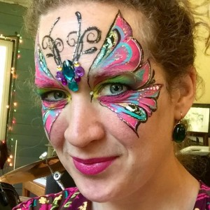 The Painted Zebra Face Painting - Face Painter / Body Painter in Kingston, Washington