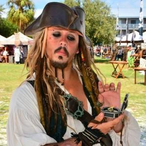 The Pirate Captain Sparrow - Pirate Entertainment / Johnny Depp Impersonator in Pompano Beach, Florida