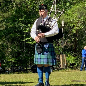 The Southern Piper - Bagpiper in Collinsville, Mississippi