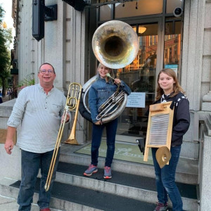 The Stonehouse Brass Band - New Orleans Style Entertainment / Brass Band in Frederick, Maryland