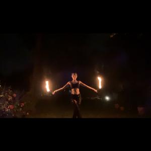 TheDabQueen - Fire Dancer in Philadelphia, Pennsylvania