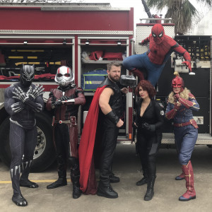 Texas Thor Heros and More - Costumed Character / Children's Party Entertainment in San Antonio, Texas