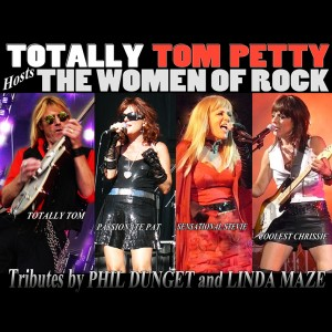 Totally Tom Petty Hosts the Women of Rock - Party Band in Salmon Arm, British Columbia