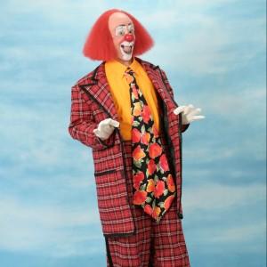 """""""Toto"""" Johnson - Clown in Davenport, Iowa"""