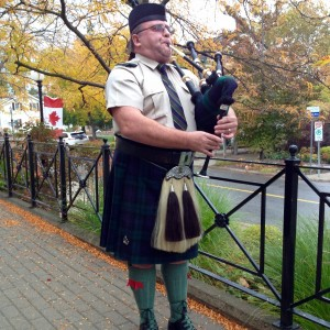 Traditional Scottish Piper - Bagpiper in Townsend, Ontario